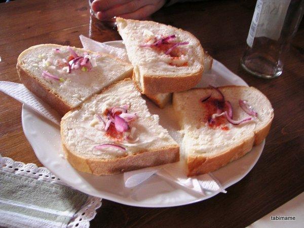 ハンガリーの軽食 ジーロシュケニェール