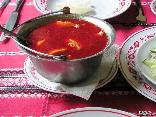 ハンガリー料理 ハラースレー