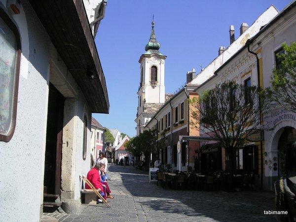 ハンガリー旅行 センテンドレ