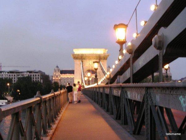 ブダペスト くさり橋