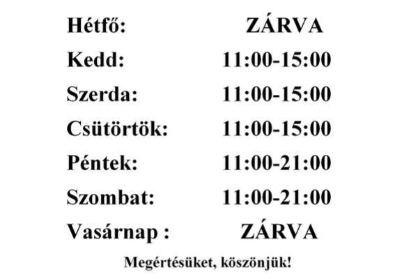 ハンガリーお店の営業時間